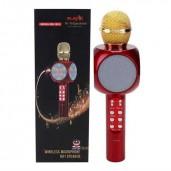 http://www.priyomarket.com/WS1816 Wireless Bluetooth Karaoke Speaker